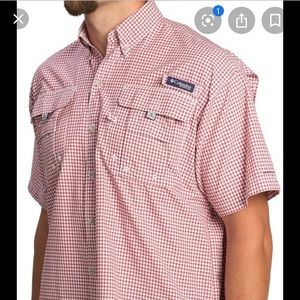Columbia men's super bahama plaid shirt
